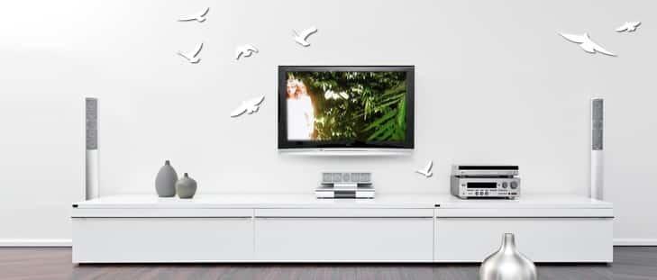 דקורציה-לקיר-עיצוב-קיר-טלויזיה