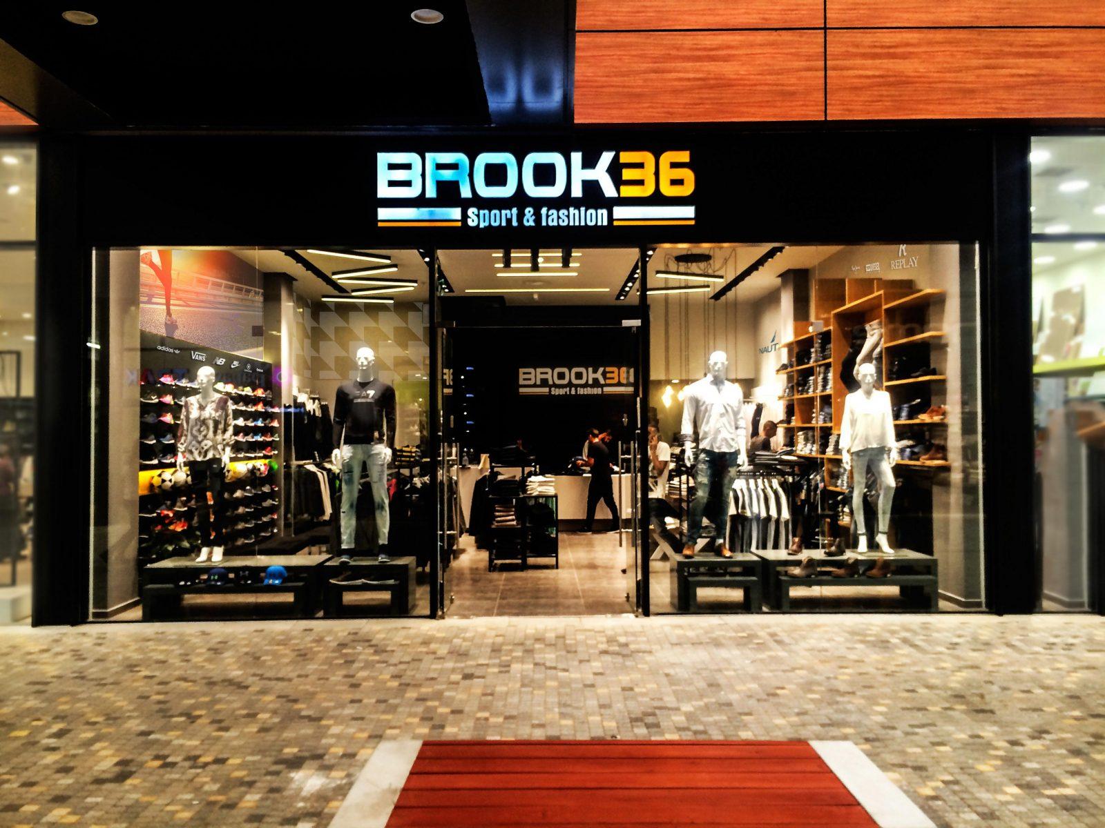 עיצוב חנות brook 36