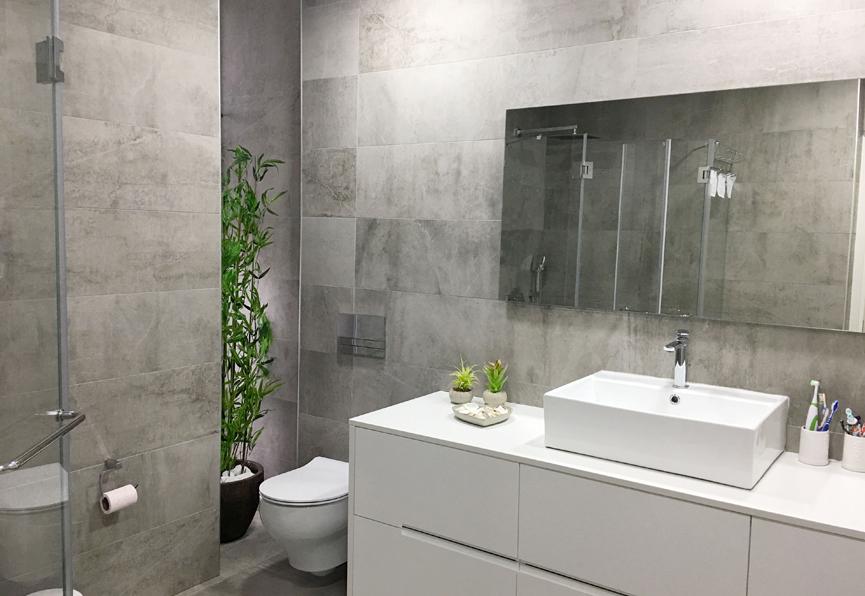 עיצוב חדר רחצה מודרני