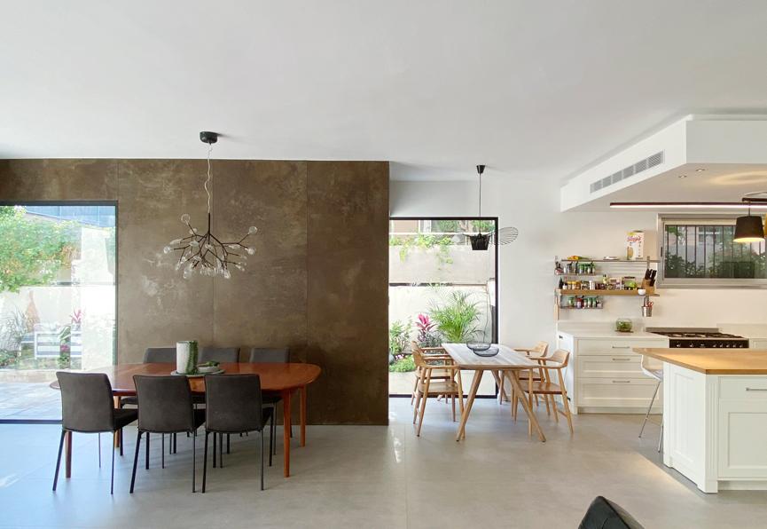 אדריכלות ועיצוב פנים לבית פרטי ברעננה