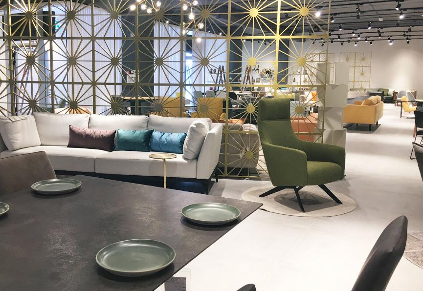 עיצוב חנות רהיטים ליאור מלכה