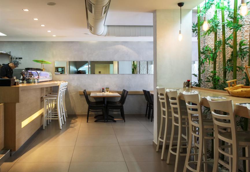 עיצוב מסעדה אסיאתית